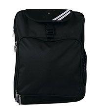 BAG-26-NYL - Backpack - Black - One