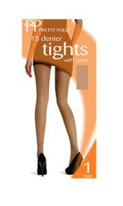 TPP-54-TIG - 15 Denier everyday tights - Natural