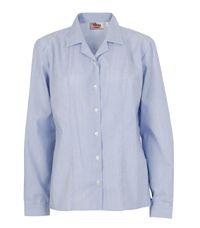 BLS-05-PCT - Two Revere short sleeved shirt - White