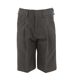 BER-33-PVI - Bermuda shorts - Grey