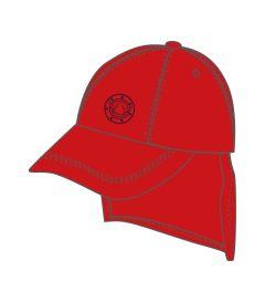 HAT-44-DAN - Legionnaires cap - Red/logo