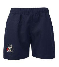 SHO-43-TOM - TOM Games shorts - Navy/logo
