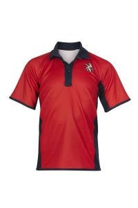 RGY-56-TOM - Battersea Rugby shirt - Red/navy/logo