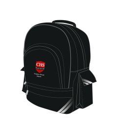 BAG-27-CMN - School bag - Black/logo