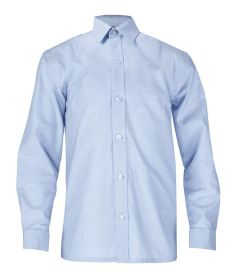 SHT-69-COP - Twin pack long sleeved shirt - Oxford Blue