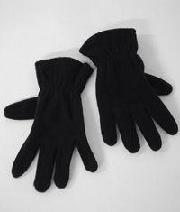 GLV-15-PFL - Fleece gloves - Black