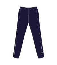 RGY-27-FHS - Finton House rugby shirt - Navy/sky/white/logo