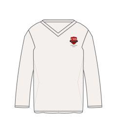 JMP-17-CMN - Cricket jumper - Off white/logo