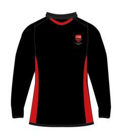 GSH-05-CMN - Reversible multisports games t - Black/red/logo