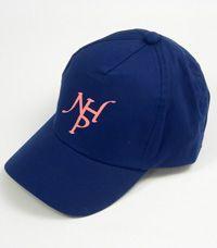 HAT-23-NHP - Baseball hat NHP - Navy/pink logo