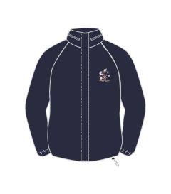 TRA-72-ESU - Waterproof jacket - Navy/logo