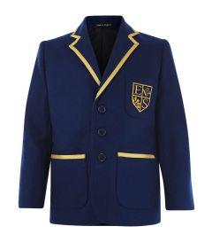 BLZ-39-ESS - Eaton Square blazer - Royal/gold/logo