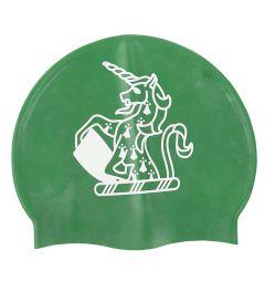 HAT-15-TOM - TOM House Swimcap - Green/logo