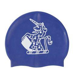 HAT-15-TOM - TOM House Swimcap - Blue/logo