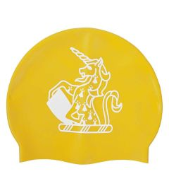 HAT-15-TOM - TOM House Swimcap - Yellow/logo