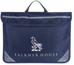 BAG-19-FKH - FKH Book Bag - Navy/logo - One
