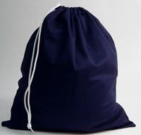 BAG-15-ANC - Gym/shoe bag - small - Navy - One