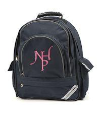 BAG-27-NHP - Notting Hill school bag - Navy/logo - One