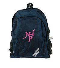 BAG-28-NHP - Notting Hill junior backpack - Navy/logo - One