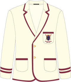 Men's Double Stripe University College Boat Club Durham Blazer