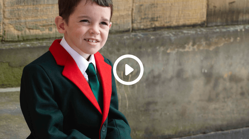 Measuring Girls for uniform video